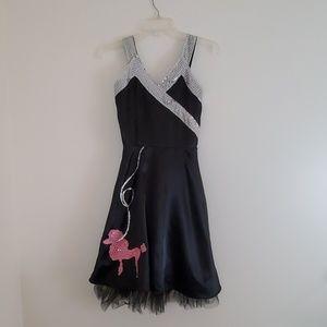 50's Style Poodle Dog Costume Dress - Juniors L
